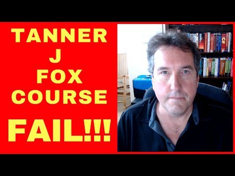 FAIL: Updated Tanner J Fox Amazon Seller Mastery Course - SCAM? 2017 2018