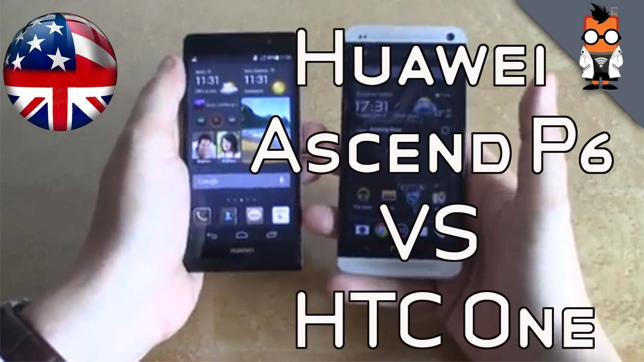 Huawei Ascend P6 vs HTC One - YouTube