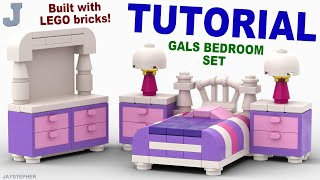 Tutorial - Lego Ladies Bedroom Set
