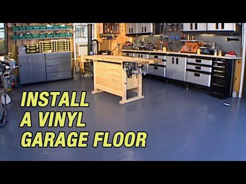 Install a Vinyl Garage Floor