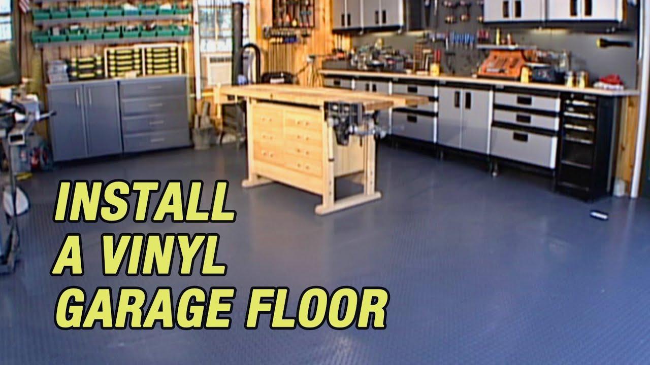 Install A Vinyl Garage Floor You