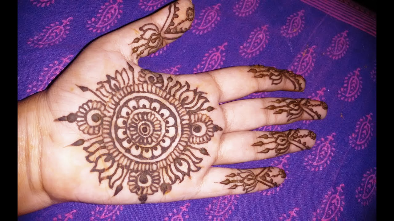 Mehndi Wrist Joint : How to mehndi henna designs step by for beginners tutorials