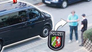 POLIZEI LIVE IM VIDEO RUFEN! **FANS GEHEN ZU WEIT**