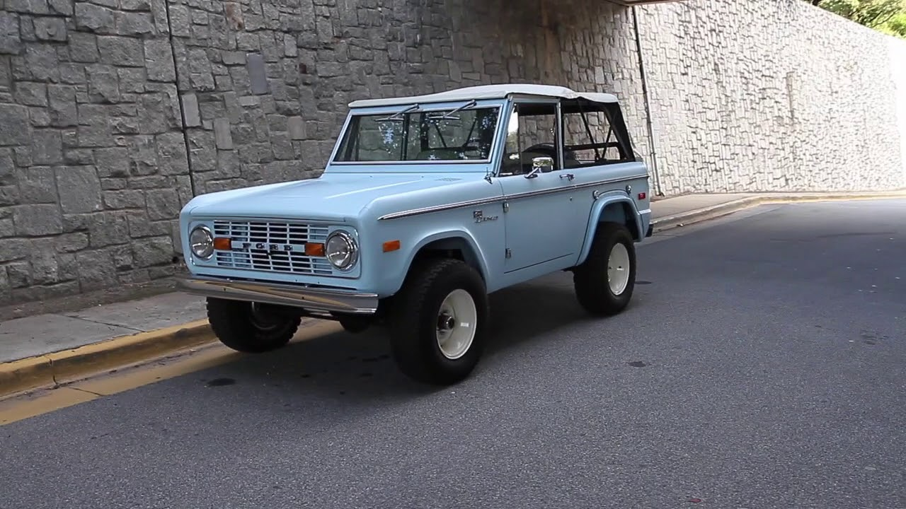 1972 Ford Bronco for sale - YouTube