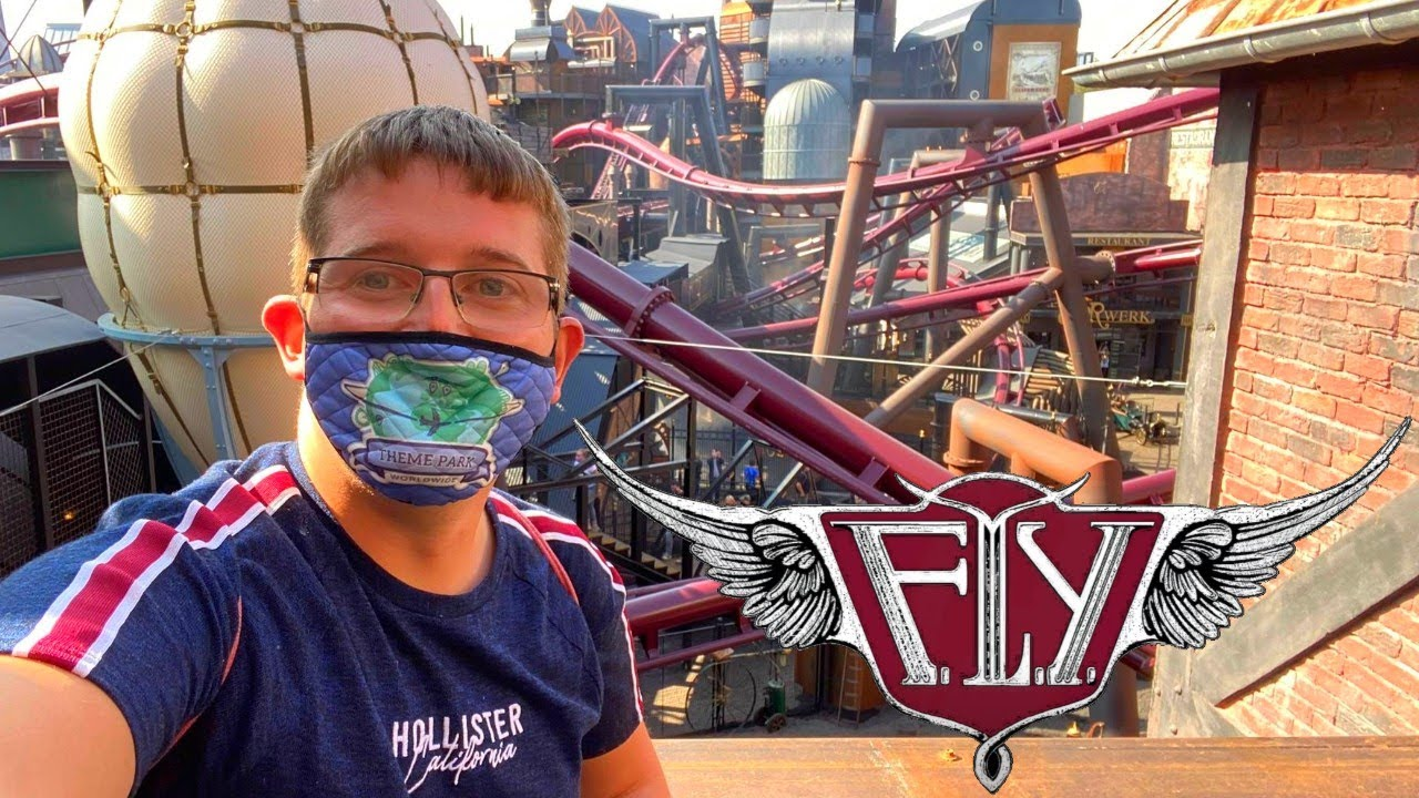 F.L.Y. & Rookburgh - FIRST RIDE & Review - Phantasialand Vlog September 2020