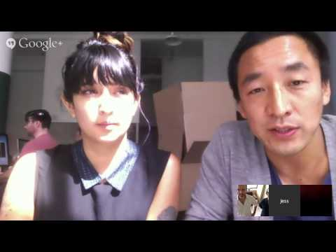 Talk Stickers w/ GIPHY.COM's Alex Chung and Jess Gilliam - YouTube