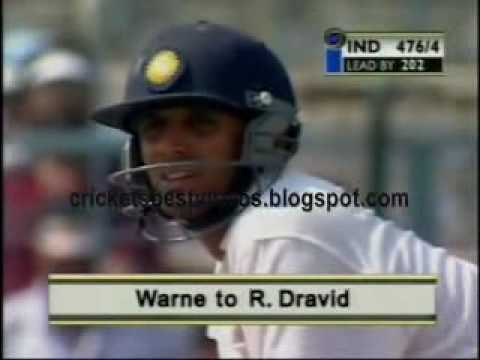Cricket Video - Rahul Dravid 180 at Eden Garden