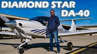 DA-40 Diamond Star - Flight & Pilot Interview