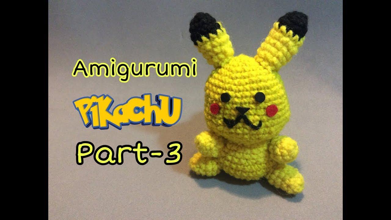 Ravelry: Pikachu Amigurumi pattern by Clare Heesh | 720x1280