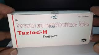 Tazloc-H Tablet: View Uses, Side Effects, Price and Substitutes in hindi