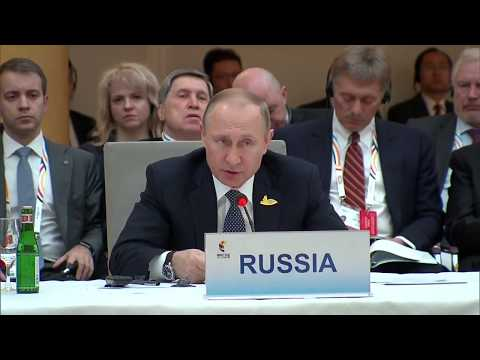 Putin's FULL Speech at G20 Summit to BRICS Leaders in Hamburg, Germany
