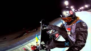 GoPro HD: Gold Medalist Shaun White Superpipe TV Course Preview – Winter X Games Europe 2012