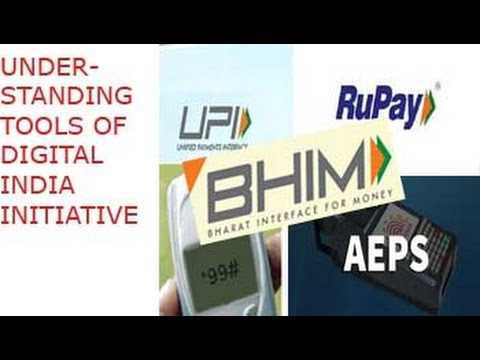 UPI, USSD, BHIM, AADHAR Enabled Payment System: All Explained