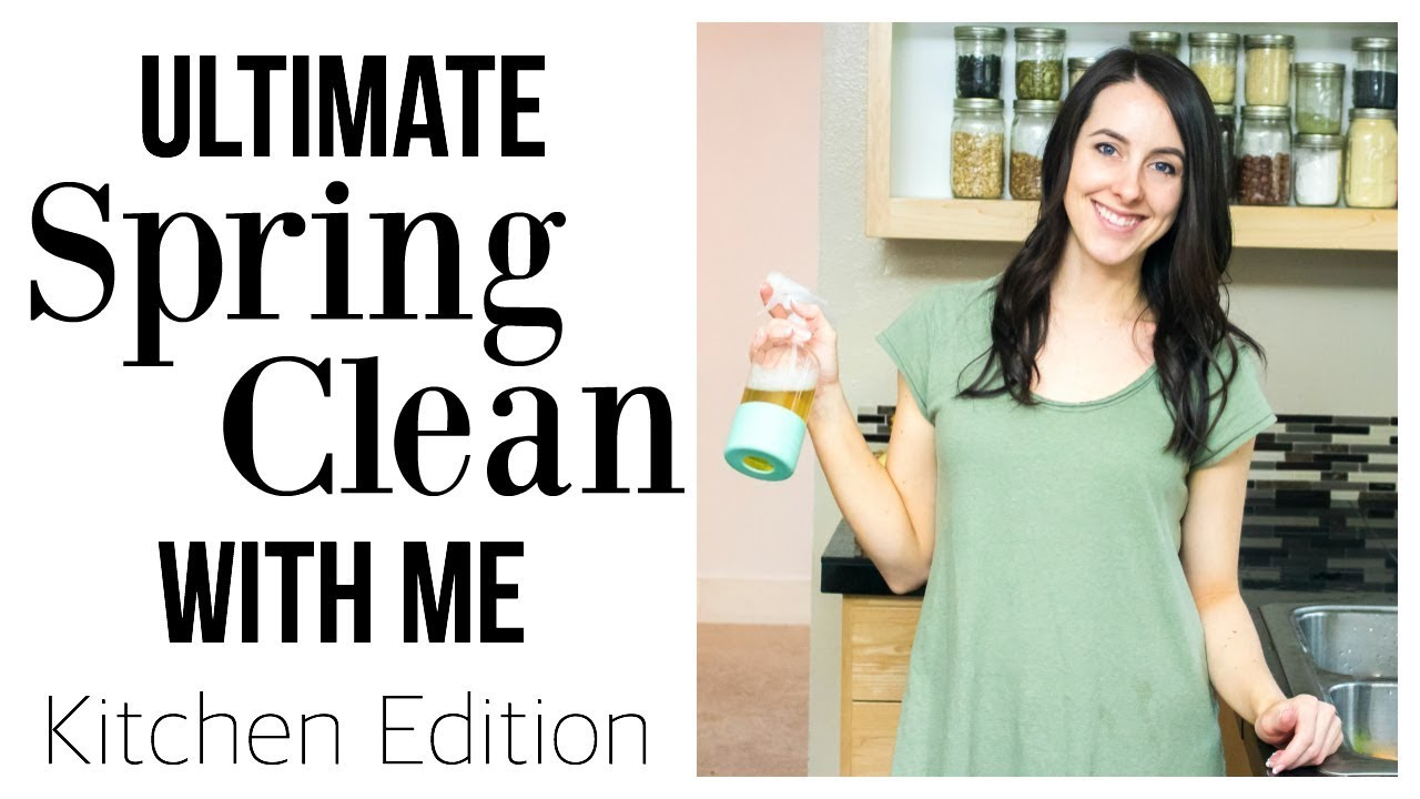 KITCHEN DEEP CLEAN   Ultimate Power Hour Cleaning - YouTube