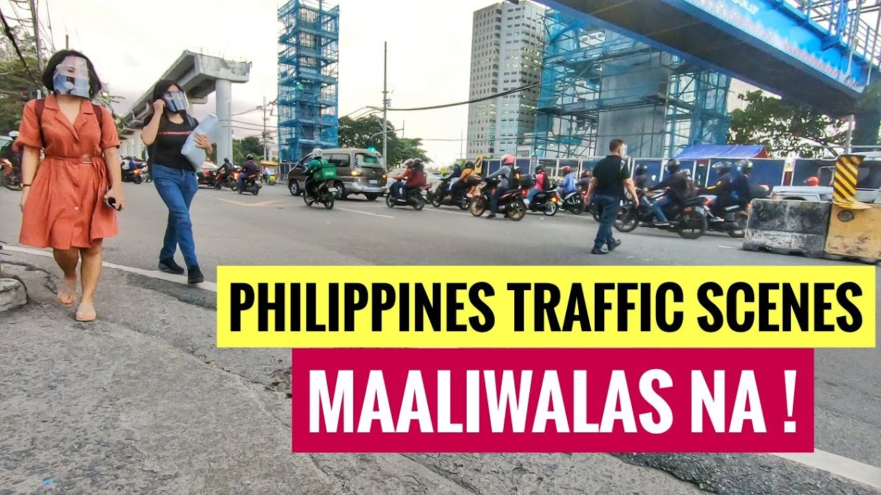 WOW AMAZING TRAFFIC IN METRO MANILA | RUSH HOUR SCENES NORTH AVENUE UPDATE