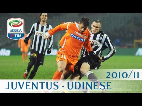 Juventus Udinese 1 2 Serie A 2010 11 Youtube