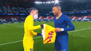 Pedri Is So Good, Mbappe Had To Ask For His Shirt !