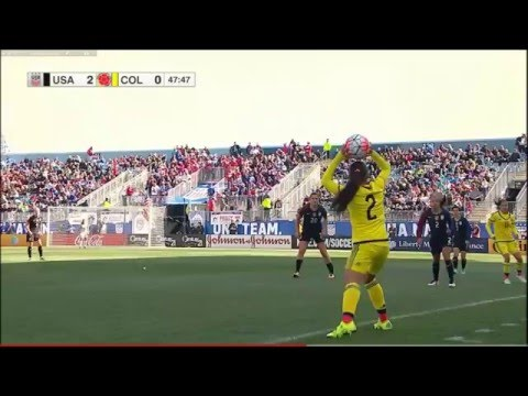 (2) USWNT vs Colombia 4.10.2016