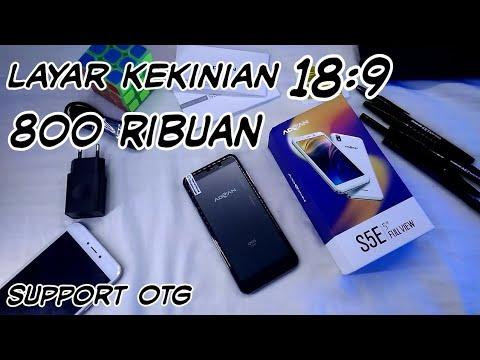 Harga murah Tapi mewah | UNBOXING Advan S5E full view 18:9