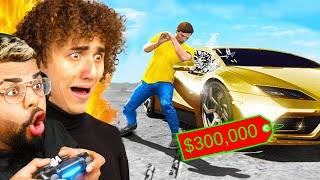 STEAL IT And I'll BUY IT For You IN REAL LIFE! (GTA 5)