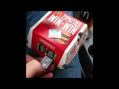 Mcdonald S Monopoly Game 2011 Youtube