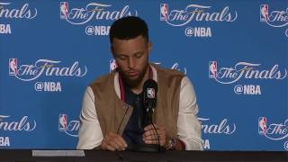 Steph Curry Postgame News Conference #1 | Warriors vs Cavs Finals Game 2 | June 4, 2017