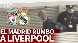 LIVERPOOL vs. REAL MADRID | CHAMPIONS | El MADRID pone rumbo a LIVERPOOL | Diario AS