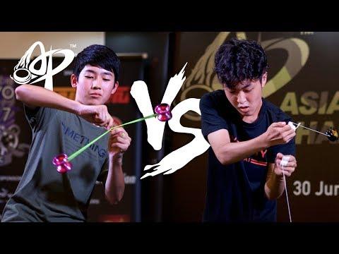 Hajime Miura vs. Arata Imai — CoC Finals - Asia Pacific Yo-yo Championships 2017