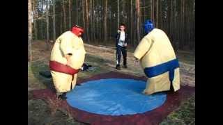 Борьба сумо.