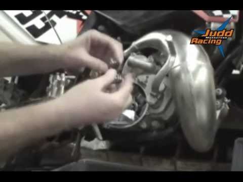 Installation Instructions For The Ktm 50 Triple Grip