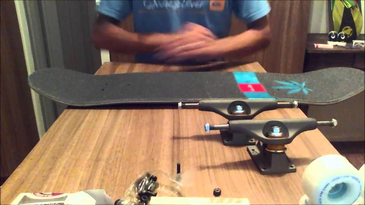 Montando um Skate com peças importadas by Eduardo Kuhn - YouTube 5a899b45b37