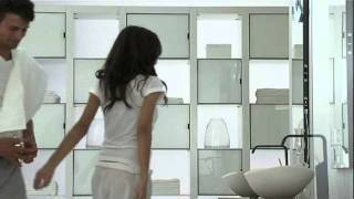 Design Washbasin Cabinet With Light Mirror By Modern Tiles & Modern Sanitary Faisalabad.flv
