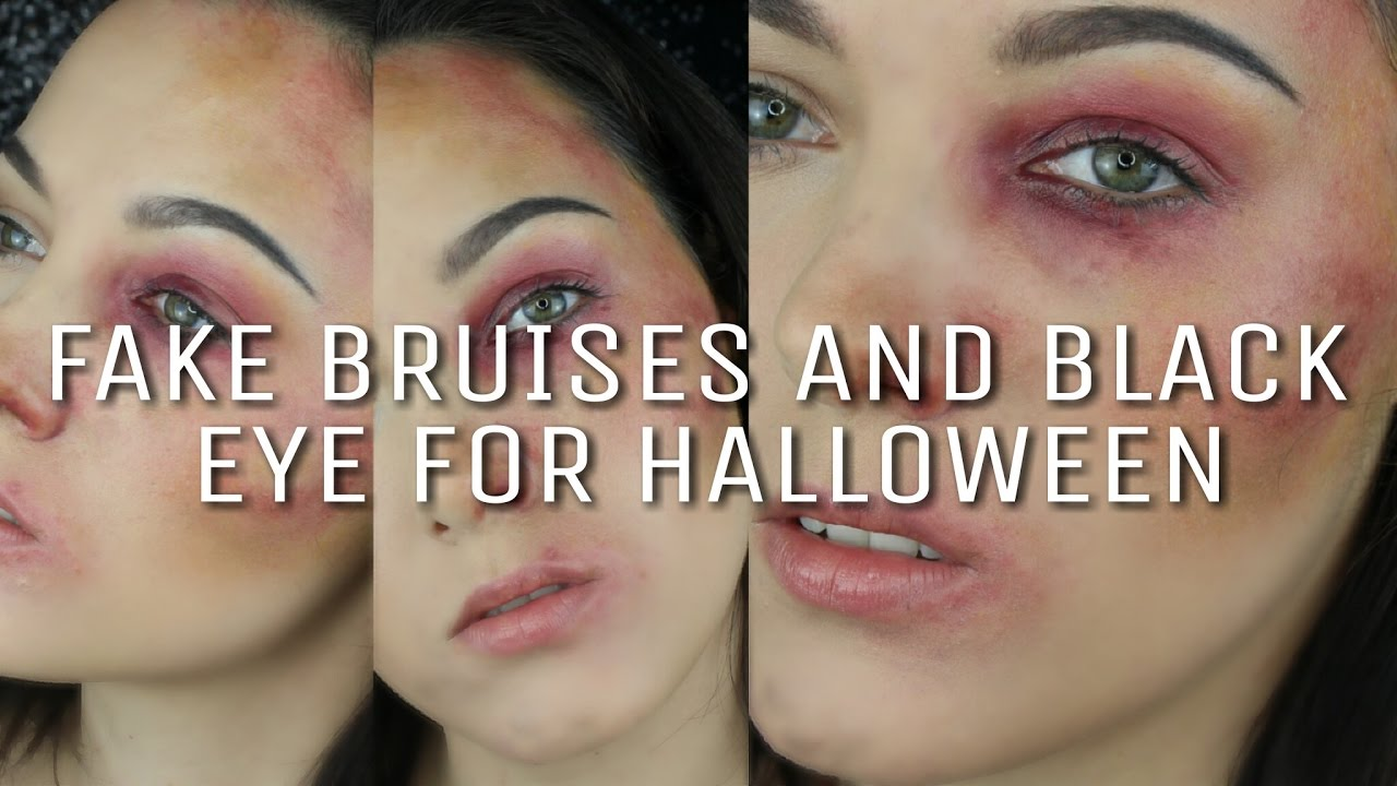 For Easy - Ninja Black Fairy And Eye To How Youtube Bruises Fake Halloween Sfx