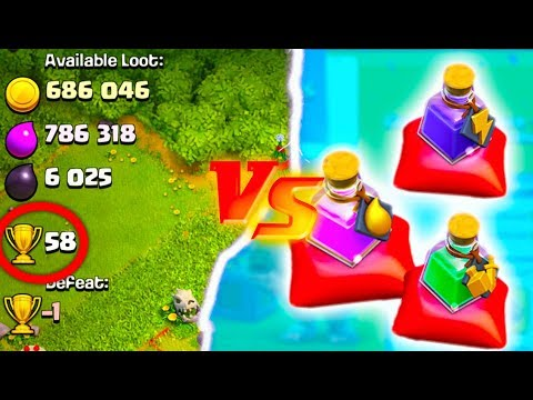 NEW POTIONS vs INSANE TROPHY/LOOT ATTACK! Clash of Clans UPDATE!