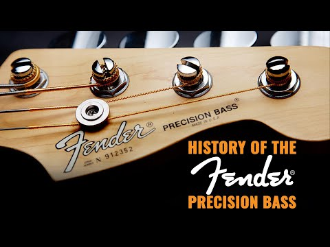 Download Youtube: History of the Fender Precision Bass | CME Vintage Bass Guitar Demo