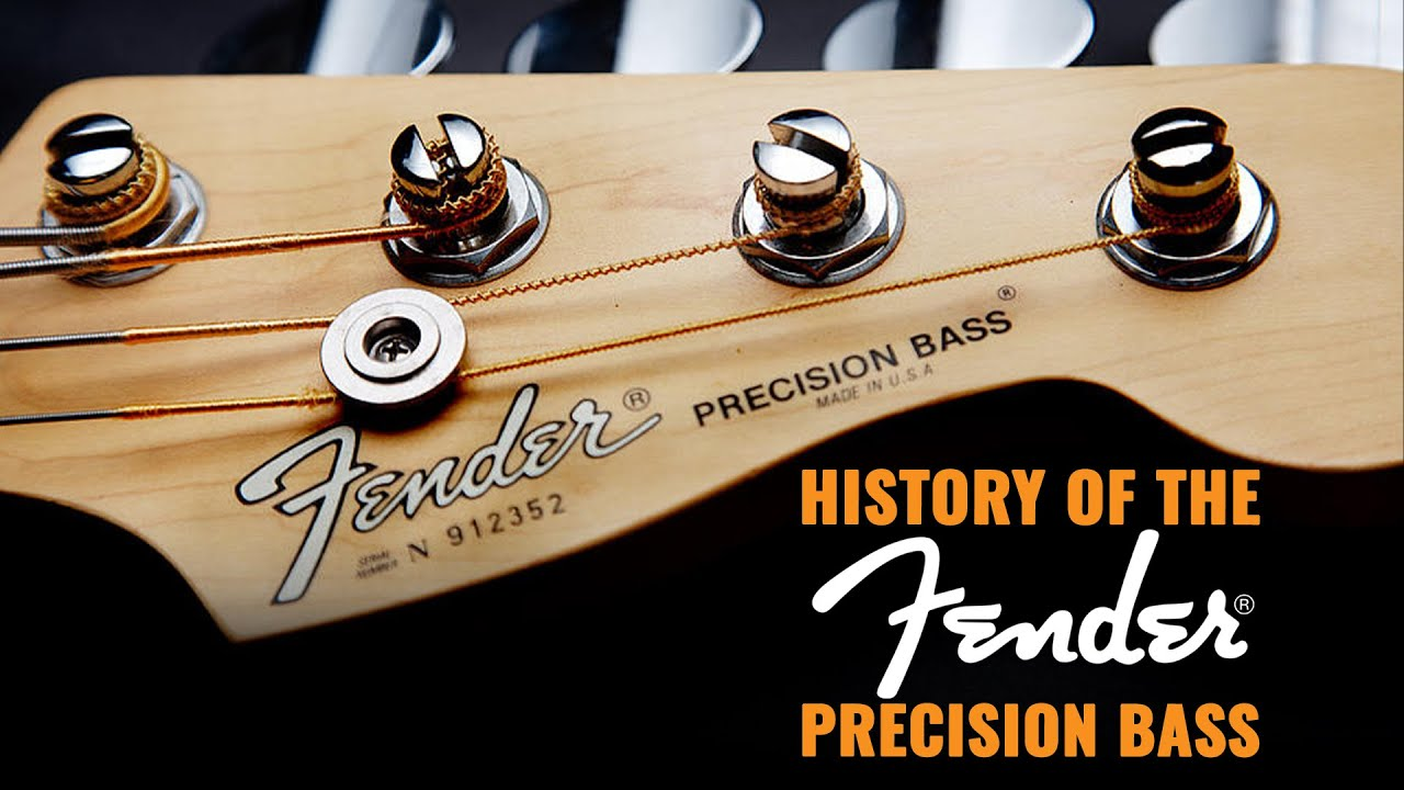 History of the Fender Precision Bass  CME Vintage Bass