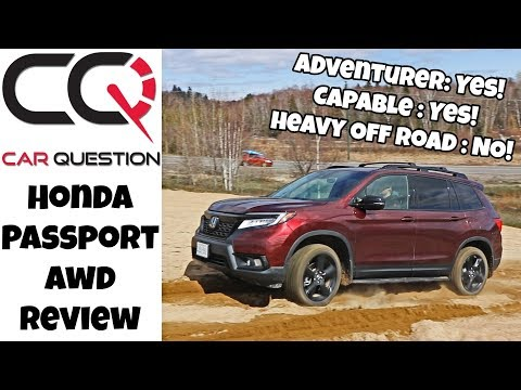 Honda Passport AWD review | Capable, fast and better than a Honda CR-V!