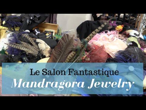 Mandragora Jewelry - Interview au salon Fantastique