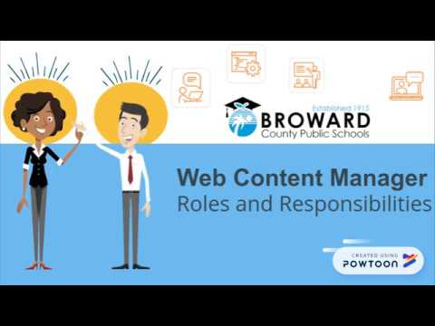 Web Content Manager Roles And Responsibilities
