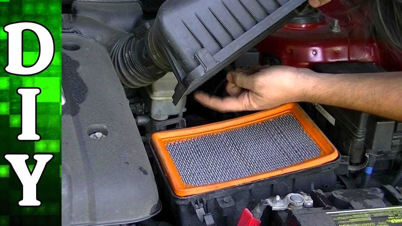 How To Remove And Replace An Engine Air Filter Kia