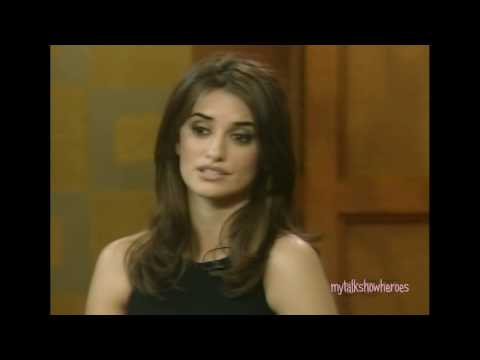 "PENELOPE CRUZ -""PRINCE IS A FRIEND OF MINE"""