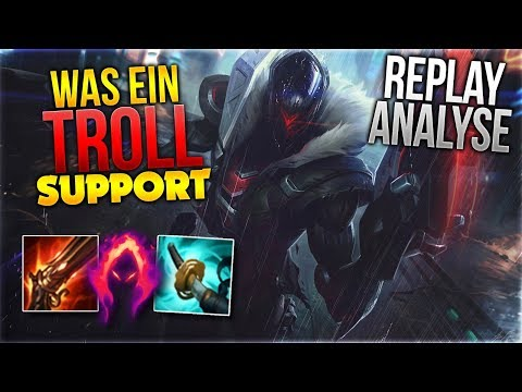 Was ein Troll Support! Jhin ADC Analyse [League of Legends] [Deutsch / German]