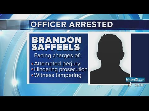Maui Police Officer Arrested, Could Face Charges For Allegedly Tampering With Witness