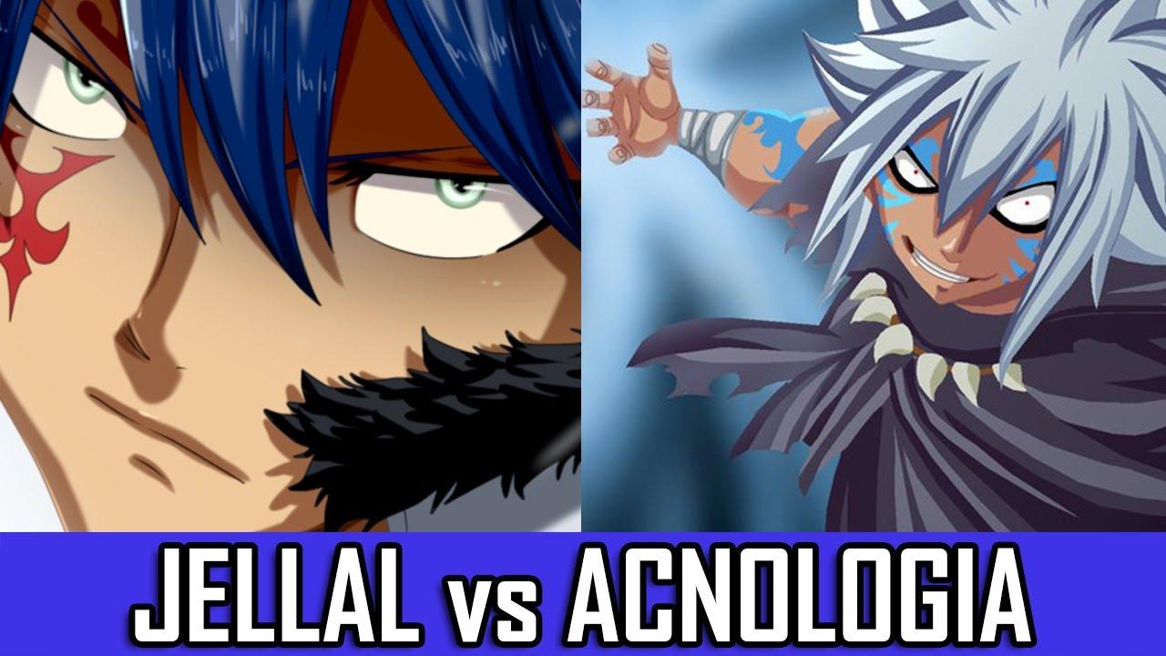 JELLAL vs ACNOLOGIA - Fairy Tail 528 - YouTube