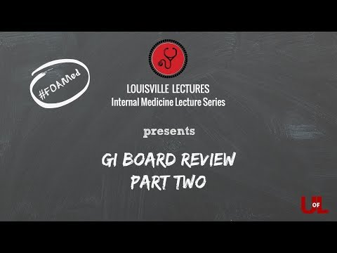 GI Board Review (Part Two) With Dr. Endashaw Omer