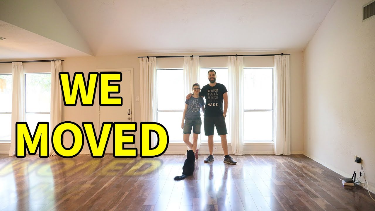Moving Into Our New House! (we almost RUINED our floors)