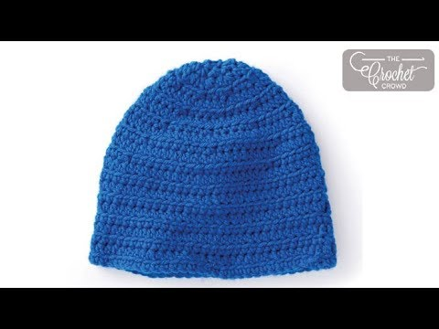 d2666240e3c How to Crochet A Hat  Adult Size - YouTube