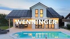 Haus in Hanglage mit Pool & Doppelgarage von Fertighaus WEISS