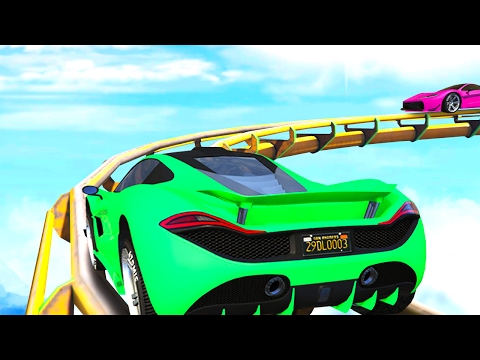 ROLLERCOASTER GTA 5 BATTLE! (GTA 5 Funny...