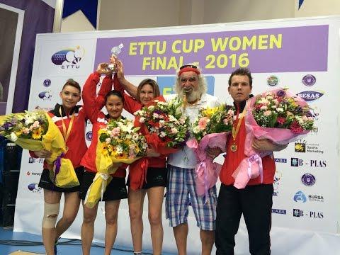 Table Tennis - Finale ETTU Cup 2016 women